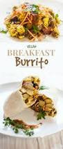 vegan breakfast wrap|On Board Vegan