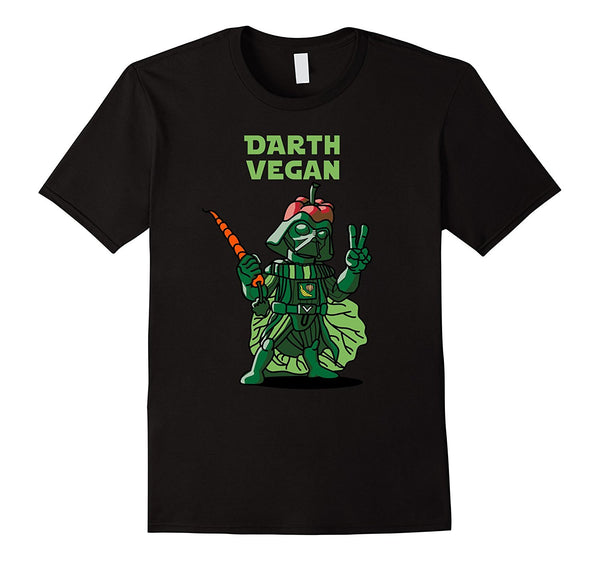 Darth Vegans Funny For Kale Force Lovers T-Shirt
