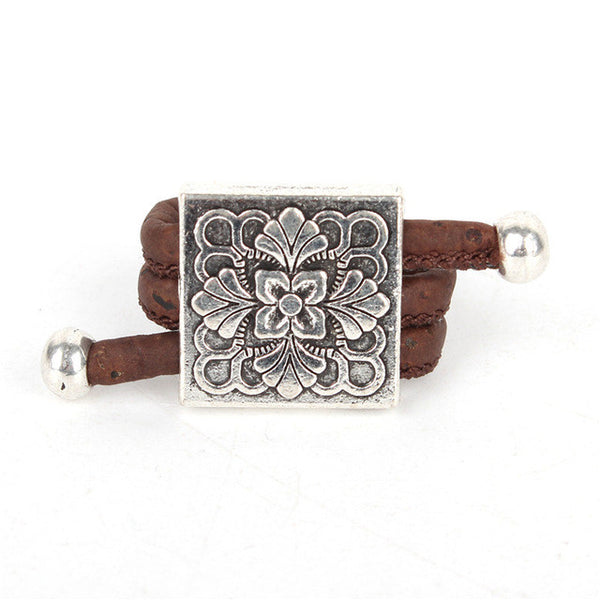 square flower Ring