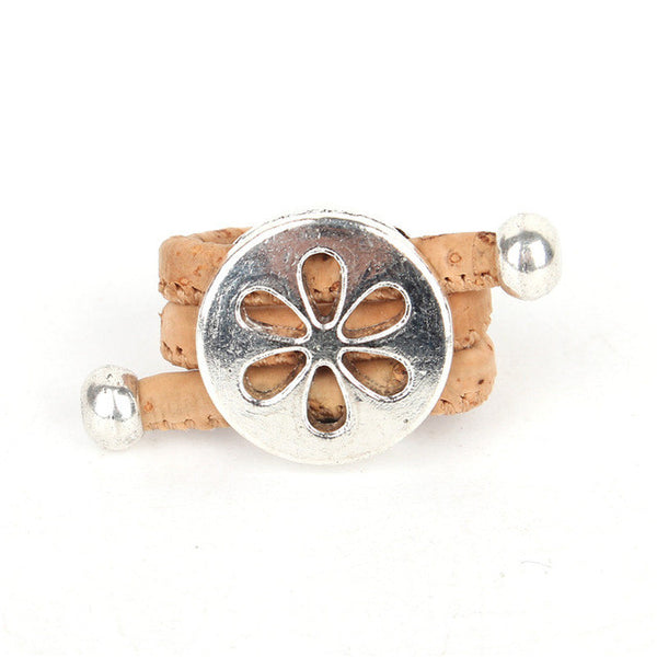 flower Ring vegan jewelry