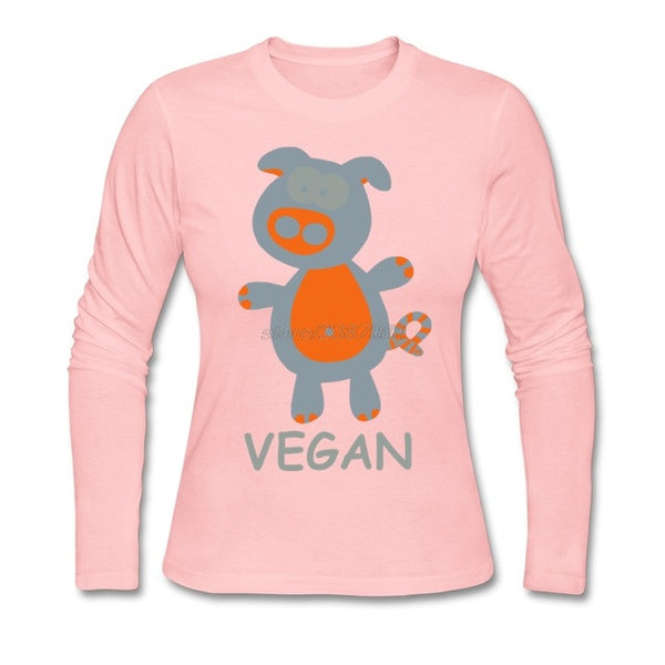 Piggy Vegan Statement T Shirt