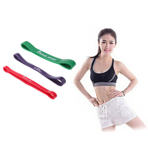 Leg Muscle Building Fitness Resistance Band for 15-45Lbs Resistance Yoga Training