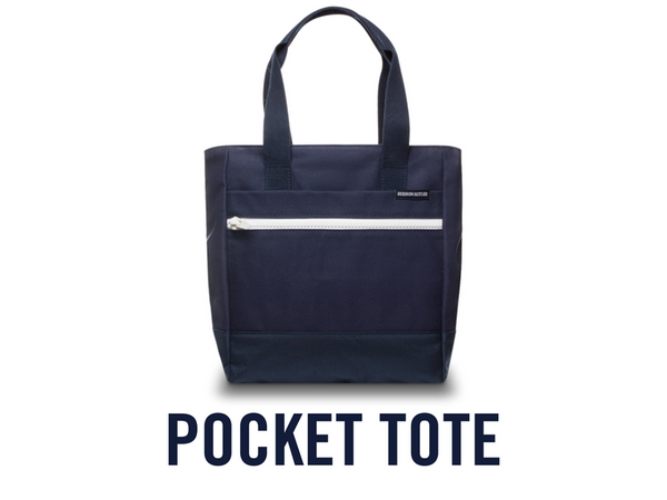 Custom Built Pocket Tote
