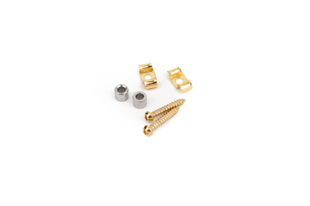 Vintage-Style Stratocaster® String Guides (2) (Gold)