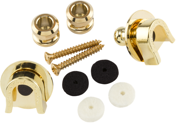 Elite Strap Locks, Gold