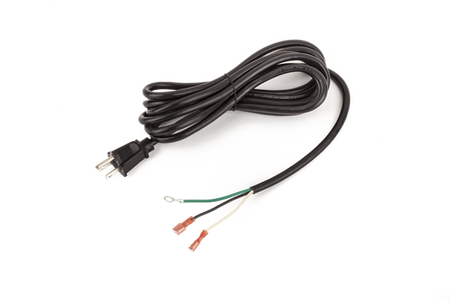 Replacement Power Cable, No IEC Connector, 120V
