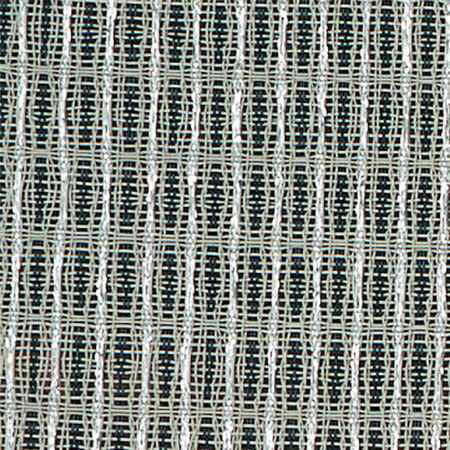Pre-Cut Amplifier Grille Cloth, Black/Silver, Large (6' x 6')