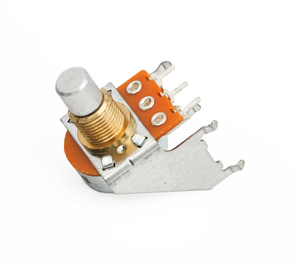50K B Taper Snap-In Potentiometer (Solid Shaft)