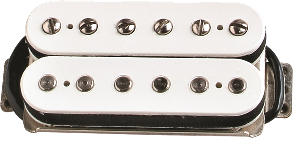 Pickup, DH-1 Humbucker, US Strat® Models, Aged White
