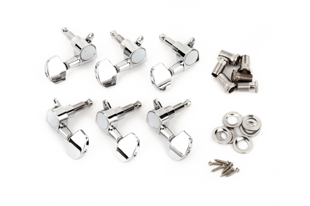 GDO / GDP / T Bucket™ Acoustic Tuning Machines, Chrome (6)