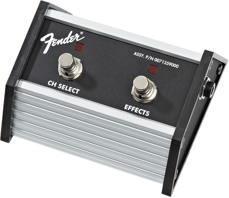 "2-Button Footswitch: Channel Select / Effects On/Off with 1/4"" Jack"