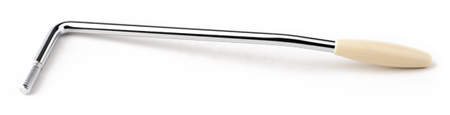 Highway One™/American Special Tremolo Arm, Chrome with White Tip