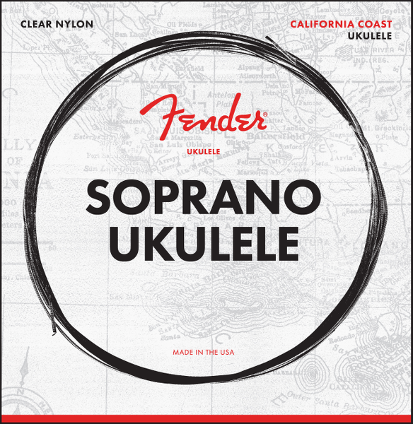 Soprano Ukulele Strings, Set of Four