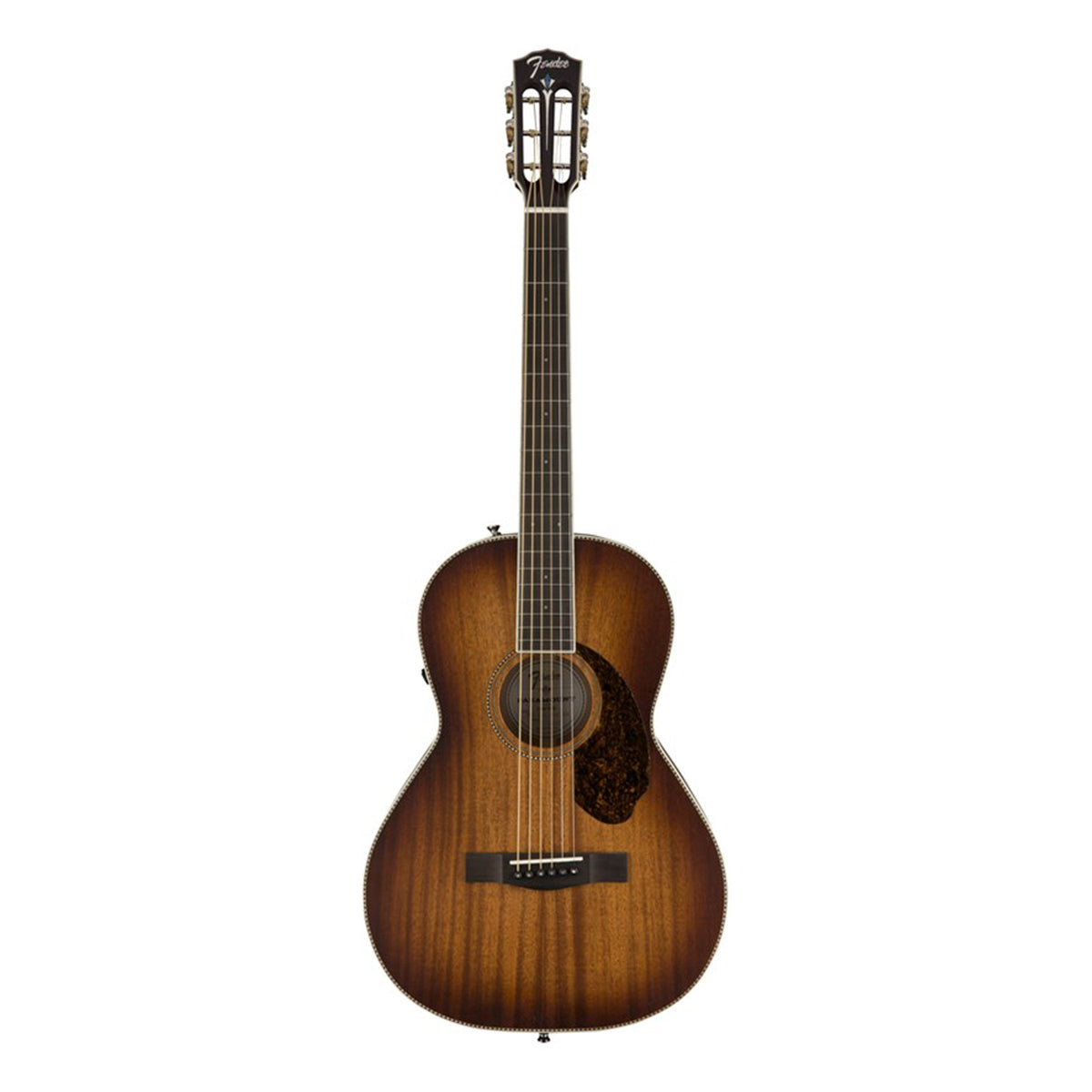 PM-2E Parlor All-Mahogany, Antique Cognac Burst