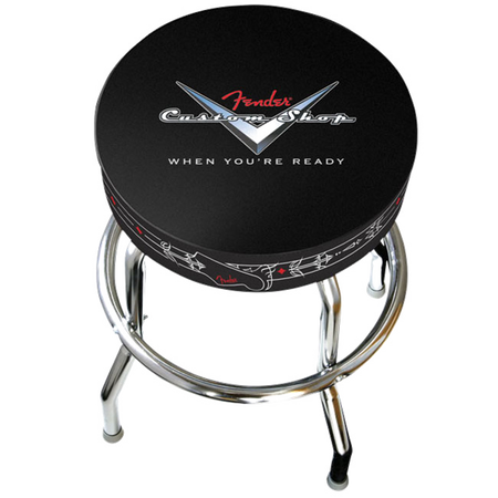 "Fender™ 24"" Custom Shop Pinstripe Barstool"