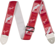 "2"" Monogrammed Strap, Candy Apple Red"
