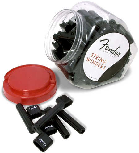 Fender® String Winders, Black (Bowl of 50)