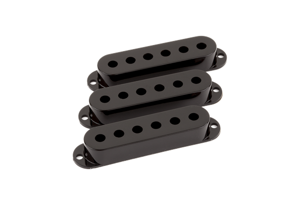 Pickup Covers, Stratocaster® Black (3)