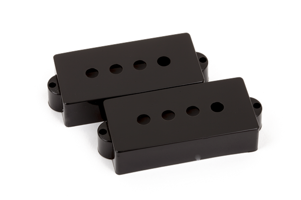 Pickup Covers, Pure Vintage Precision Bass® Black (2)