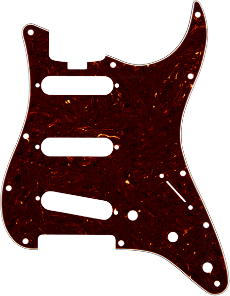 Elite Strat® Pickguard SSS Shell 4-Ply