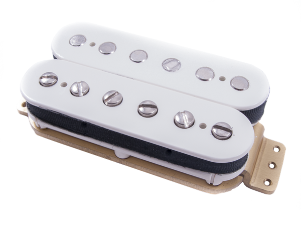 Twin Head Vintage Humbucking Neck Pickup, Parchment