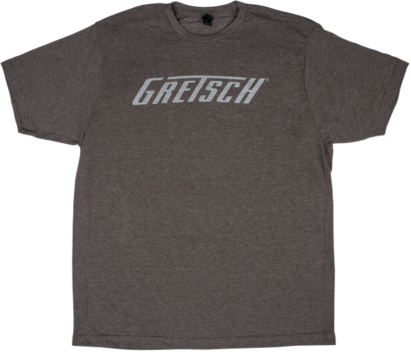 Gretsch® Logo T-Shirt, Heather Gray, 2XL
