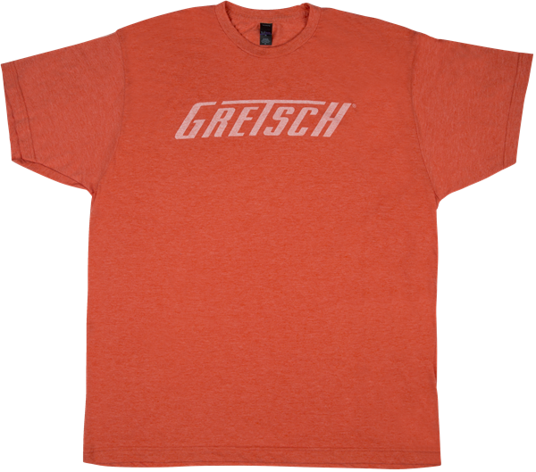 Gretsch® Logo T-Shirt, Heather Orange, 2XL