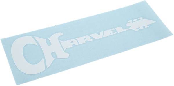 Charvel® Diecut Sticker, White
