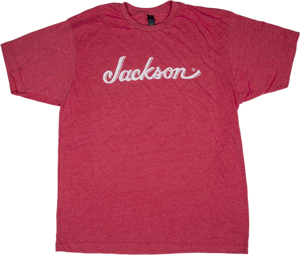 Jackson® Logo T-Shirt, Heather Red, M
