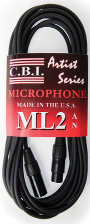 CBI USA Balanced XLR Cable 25 ft