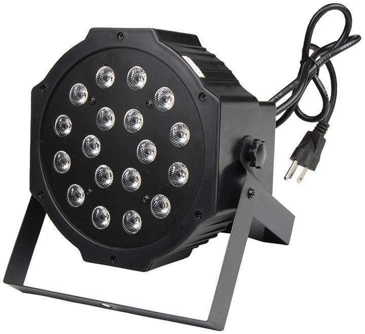 Zebra LED Stage Light 18 x 1W / 6 x RGB