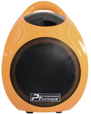 Performance Teknique 5.5in Woofer BT Yellow