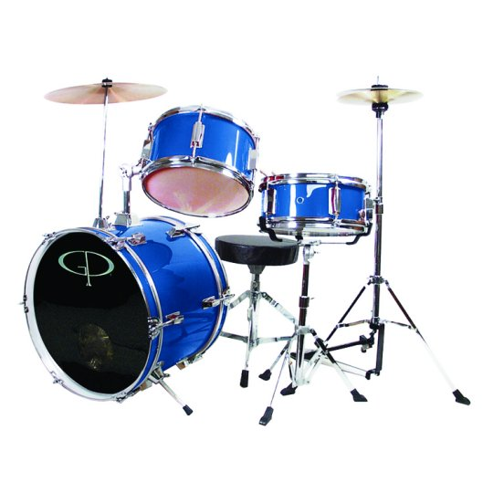 GP Percussion 3 Piece Junior Drum Set - GP50MRB