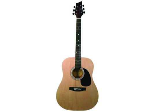 Kona Dreadnought Acoustic Guitar Natural Finish