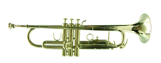 Mirage Bb Nickel Trumpet with Case