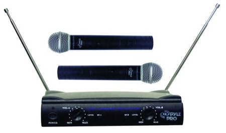 Pyle Pro Dual VHF Wireless Microphone