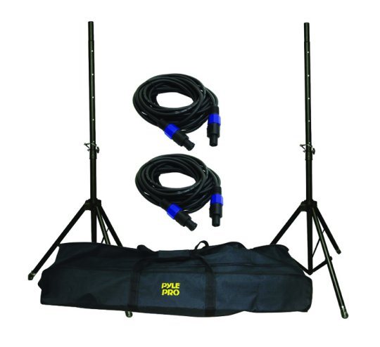 Pyle Pro Speaker Stand And Cable Kit