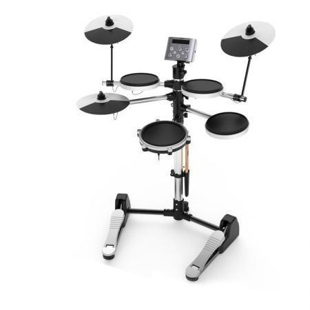 Aroma TDX-10 Musical Electronic Drum Set Kit Black