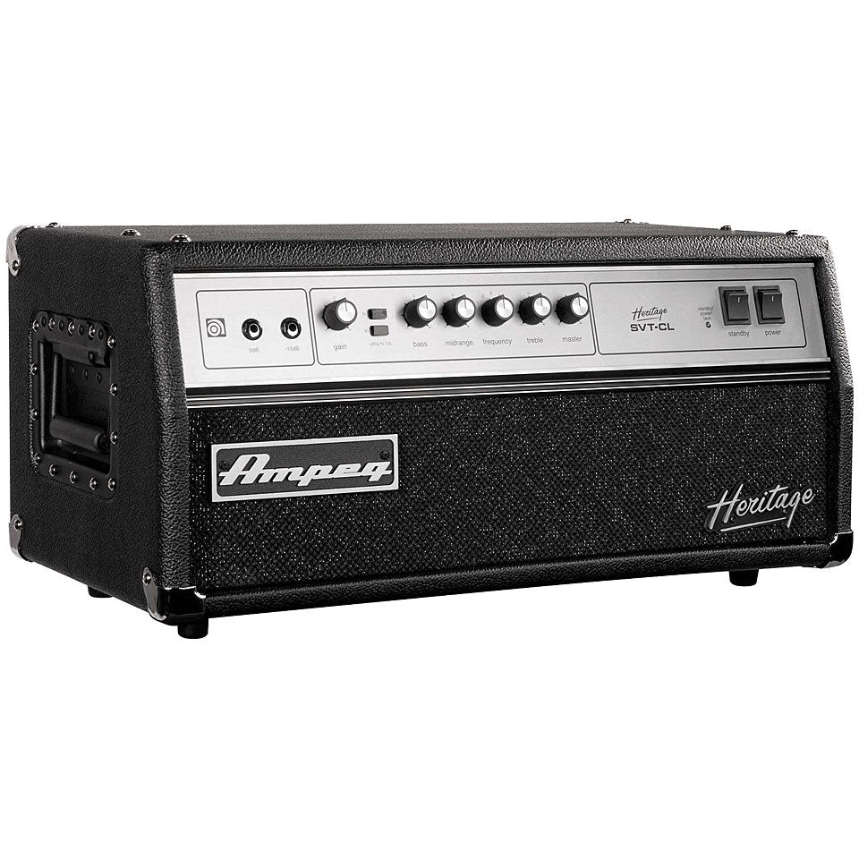 Ampeg Heritage SVT-CL 300-Watt Tube Bass Head