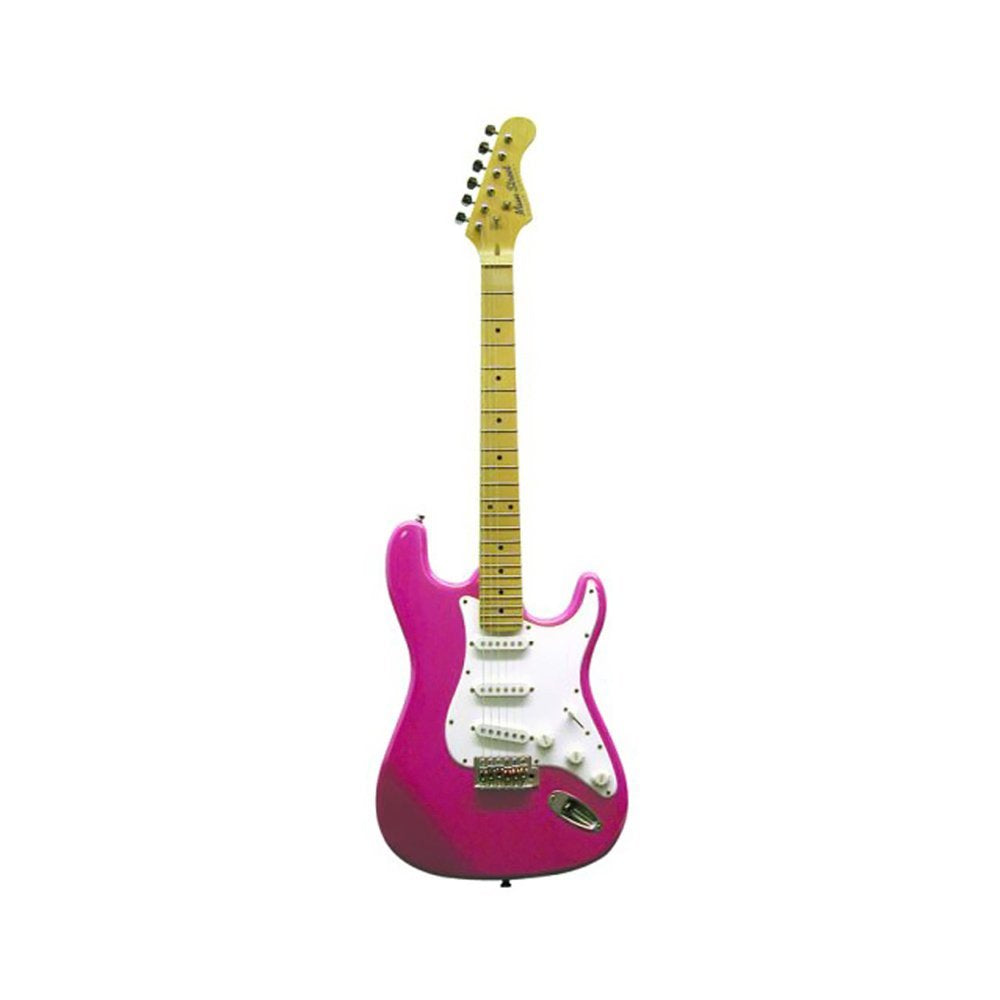 Main Street Double Cutaway Electric Guitar in Pink
