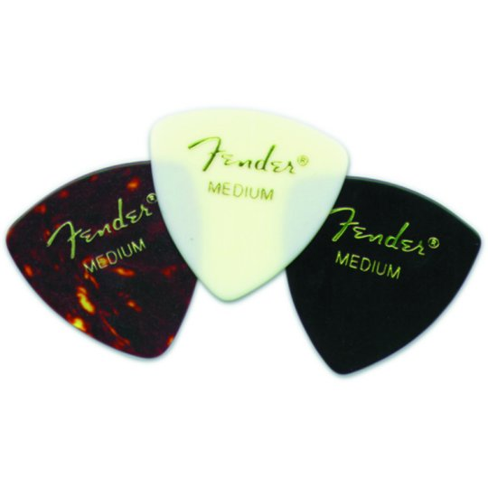 Fender Classic Celluloid Shell Thin Guitar Picks