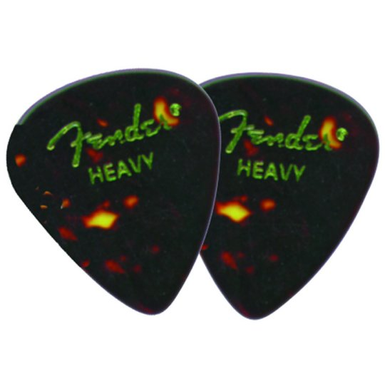 Fender Classic Celluloid Heavy Guitar Picks