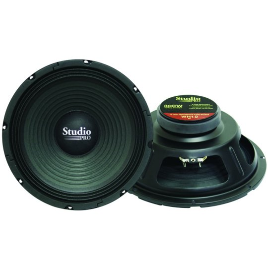 "10"" Studio 8 Ohm Replacement Woofer"