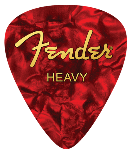 Fender™ Heavy Pick Mouse Pad, Red