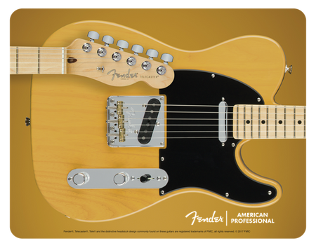 Telecaster™ Mouse Pad, Butterscotch Blonde