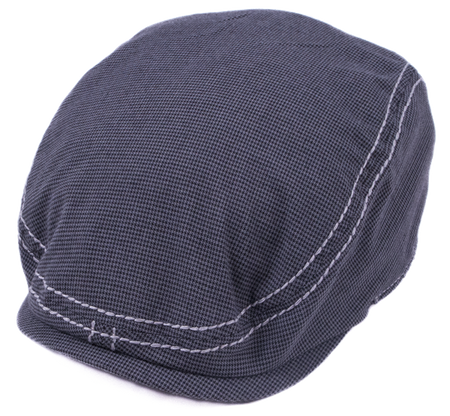 Fender® Driver's Cap, Gray/Black Houndstooth, S/M