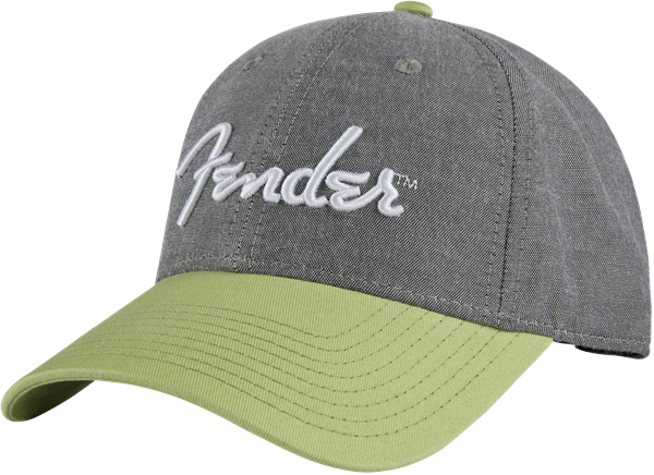 Fender® California Series Chambray Logo Hat, One Size Fits Most