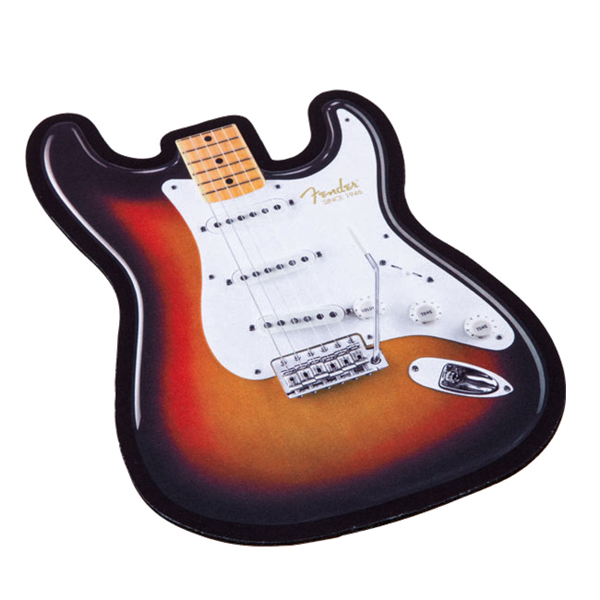 Fender® Stratocaster® Body Mouse Pad