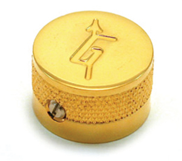 "Knob, Most Gretsch® Models, ""G"" Logo, Gold (4)"