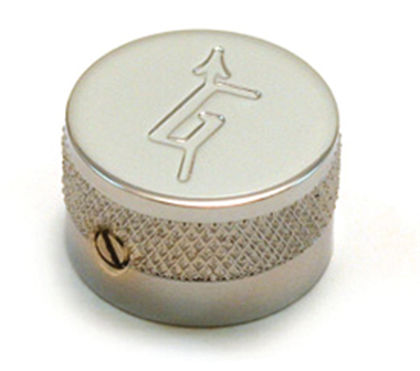 "Knob, Most Gretsch® Models, ""G"" Logo, Chrome (4)"